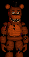 Withered Freddy by Mistberg