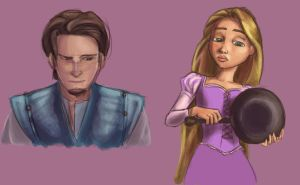 Tangled Sketches by jessijoke