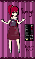 Adoptable 1 - Rouge Maid - Krowns by Xiao-Lin