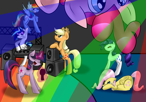 Pony Rave! by royalppurpl3