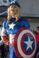 NYCC 2013 - Female Captain America by SpideyVille