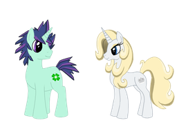 Clover the Clever and Princess Platinum by himanuts