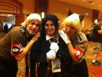 Anime Fest 2014: Schrodinger and Rip Van Winkle by Snake-n-DA-boX
