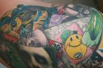 batman tattoo complete shoulde by carlyshephard