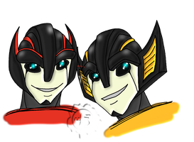 TFP- Twins by Felina-Faerlaingal