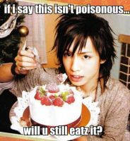 Hiroto has an evil cake by Lover-From-Hell