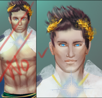 Wip Before And After by Seraphoid