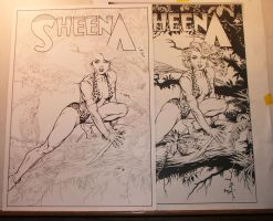SHEENA II in progress by SKY-BOY