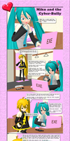 MMD Miku and the Cyber-Bully by Trackdancer
