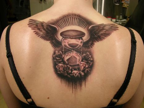Hourglass by viptattoo