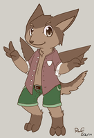 :Contest Reward: Anthro Kaketto by Pizaru-Chu