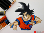 Goku || Dragon Ball Super by HideakiArtReal