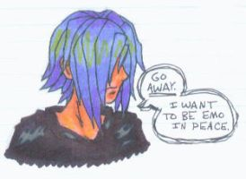 The Angsty-est Guy of KH by dragonwind15