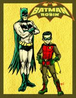 Batman And Robin by RamonVillalobos