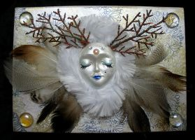 Snow Queen/ Winter Fairy Jewelry Box by Brisbykins