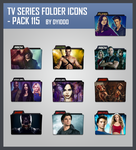 TV Series Folder Icons - Pack 115 by DYIDDO