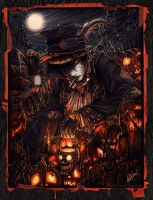 - King of the Pumpkin Patch- by pupukachoo