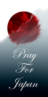 Pray for Japan by Pink-world