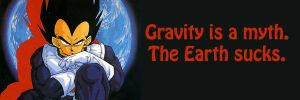 Gravity is a Myth by shinigamisgem