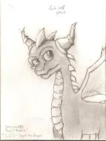 Spyro the Dragon by SwimProductionsArt