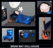 Brian May dollhouse by MarkieKnopflie