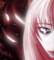 Elfen Lied: Lucy by neodecay