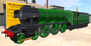 LNER 4472 Flying Scotsman by Crystal-Eclair