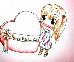 Happy Valetine's day!!! by RaikonKitsune