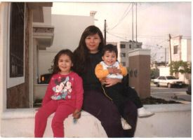 Mom, Brother and Me in 96 by erisama