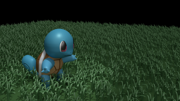 Squirtle (WorkInProgress) by LeBonBounty