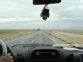 the road to Ankara from Konya by ozgurcan