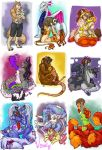 Favorite Plushie Commissions Set 1 by v-e-r-a