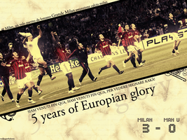AC Milan Wallpaper by Tribbiani77
