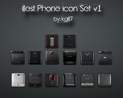 Illest Phone Icon Set v1 by kgill77