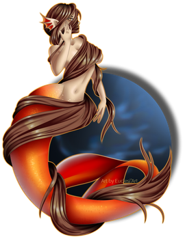 [Euclesiart] 20 Days Art Challenge Mermaid Day 5 by EuclesiArt