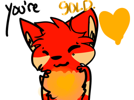 I know you're gold. by timeIords
