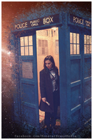 Day 203 - The Eleventh Doctor by MonsterBrand