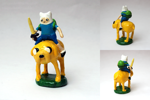 AT: Finn and Jake by yingmakes