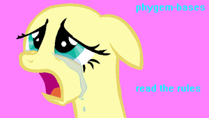Crying Flutters Base by phygem-bases