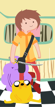 Adventure Time Character-Jonas by MegaRayquaza007