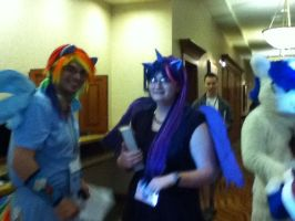 The Star Cosplayers of Everfree Northwest 2013 by TaionaFan369