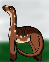 Crackerz the small dino by Experimentor-Iblis