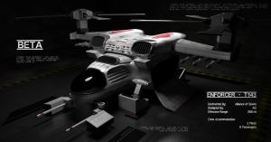 Enforcer T143 (Helicopter) Variation by boningerworks