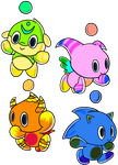 Neutral Swim, Fly, Power and Run Chao by Tails19950