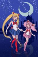 Sailor Moon by Lady-Bullfinch
