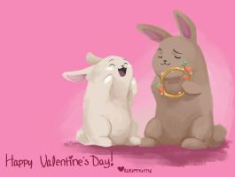 Hoppy Valentine's Day! by scriptKittie