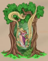 Sweet Tangled by landesfes