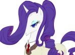 MLP PaS crossover: Rarity Kneesocks by sukinorules