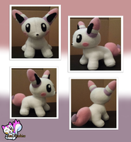 Pruddy Plushie (Fakemon) by Ami-Plushies