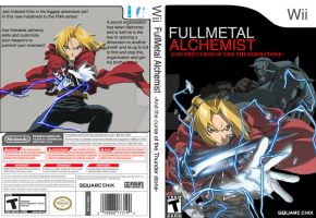 FMA wii cover final ver. by Smashspite